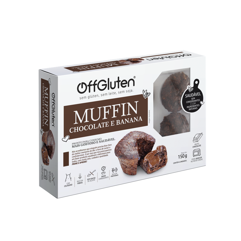 MUFFIN CHOCOLATE BANANA 300G A02